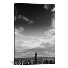 New York City Manhattan Sky Canvas Wall Art by Nina Papiorek