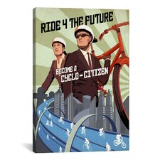 Cyclo Citizen Canvas Print Wall Art