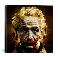 Einstein the Joker Relatively Funny by Maximilian San Painting Print on Canvas