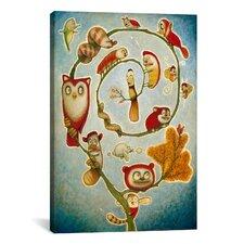 'De' Vine' by Daniel Peacock Painting Print on Canvas
