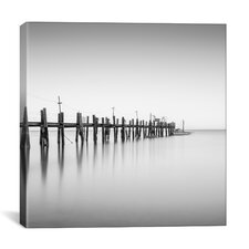 'China Camp Pano BW, Part 2 of 3' by Moises Levy Photographic Print on Canvas