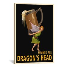 Dragon's Head Ale Canvas Print Wall Art