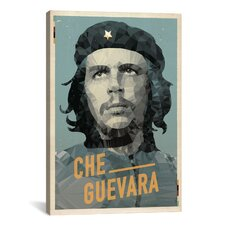 American Flat Che Graphic Art on Canvas