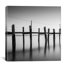 'China Camp Pano BW, Part 1 of 3' by Moises Levy Photographic Print on Canvas