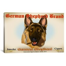 German Cigar Canvas Print Wall Art