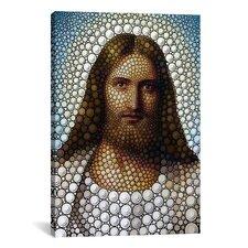 'Jesus Christ' by Ben Heine Painting Print on Canvas