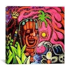 John Demaio Tiki 001 Canvas Print Wall Art