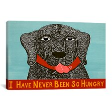 I Have Never Been so Hungry Canvas Print Wall Art