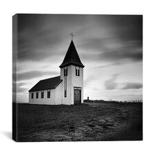 Iceland Hellnar Church Canvas Print Wall Art