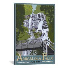 Steve Thomas Amicaola Falls Canvas Print Wall Art