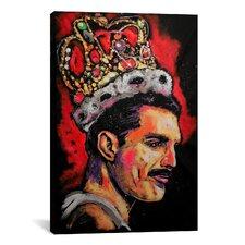 Freddie Mercury Painting 002 Canvas Print Wall Art