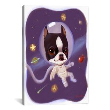 Brian Rubenacker Astronaut Canvas Print Wall Art