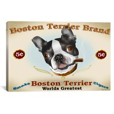 Brian Rubenacker Boston Cigar Canvas Print Wall Art
