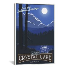 Camp Crystal Lake by Steve Thomas Graphic Art on Canvas