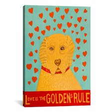 Golden Rule 1 Canvas Print Wall Art
