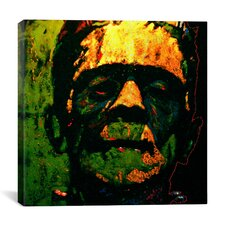 Frank N Stein 001 Touched Canvas Print Wall Art