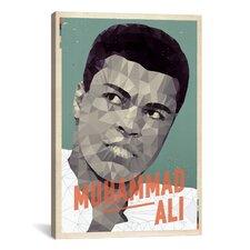 American Flat Ali Graphic Art on Canvas