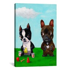 Brian Rubenacker Bt Frenchie Canvas Print Wall Art