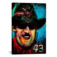 Rock Demarco Richard Petty 001 Canvas Print Wall Art