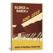 Steve Thomas Silence The March Canvas Print Wall Art