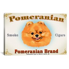Brian Rubenacker Pom Cigar Canvas Print Wall Art