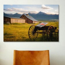 'Older Times' by Dan Ballard Photographic Print on Canvas