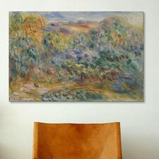 'Paysage Montagneux 1914' by Pierre-Auguste Renoir Painting Print on Canvas