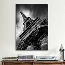 'Eiffel Tower Study II' by Moises Levy Photographic Print on Canvas