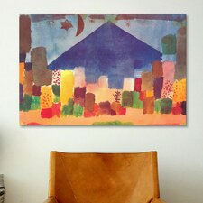 Egyptian Night (Notte Egiziana) by Paul Klee Painting Print on Canvas