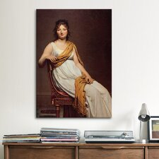 'Madame Raymond De Verninac' by Jacques-Louis David Painting Print on Canvas