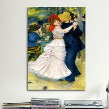 'Dance at Bougival' by Pierre-Auguste Renoir Painting Print on Canvas