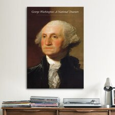 Political 'George Washington Portrait' by Dolley Madison Painting Print on Canvas