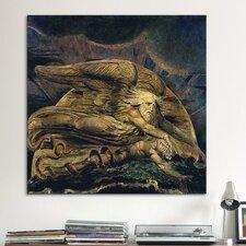 'Elohim Creating Adam' by William Blake Painting Print on Canvas