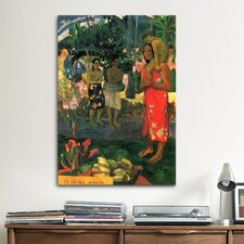 'Hail Mary' by Paul Gauguin Painting Print on Canvas