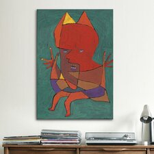 'Figurine Small Fire Devilfigurine Kleiner Furtufel 1927' by Paul Klee Painting Print on Canvas