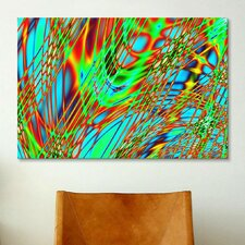 Digital Crossroads Graphic Art on Canvas