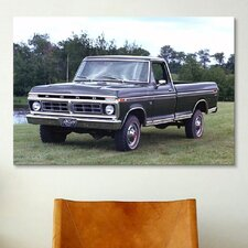 Cars and Motorcycles 1973 Ford F-150 Ranger Photographic Print on Canvas