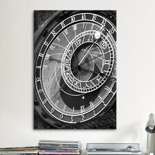 'Astronomic Watch Praha 11' by Moises Levy Photographic Print on Canvas