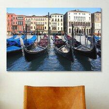 'Gondolas' by Chris Bliss Photographic Print on Canvas