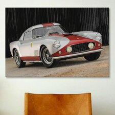 Cars and Motorcycles 1959 Ferrari 250 Gt Tour De France Photographic Print on Canvas