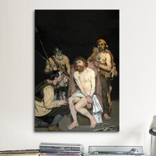 'Jesus Mocked by The Soldiers' by Edouard Manet Painting Print on Canvas