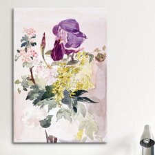 'Flower Piece with Iris, Laburnum and Geranium' by Edouard Manet Painting Print on Canvas