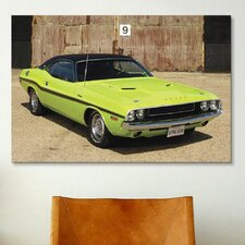 Cars and Motorcycles 1970 Dodge Challenger Photographic Print on Canvas