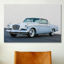 Cars and Motorcycles 1956 Studebaker Sky Hawk Coupe Photographic Print on Canvas