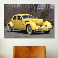 Cars and Motorcycles 1937 Cord 812 Sc Beverly Photographic Print on Canvas