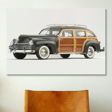Cars and Motorcycles 1941 Chrysler Town & Country Photographic Print on Canvas