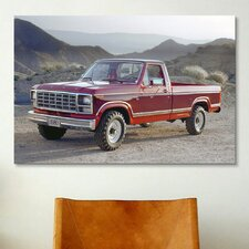 Cars and Motorcycles 1980 Ford F-250 Ranger Photographic Print on Canvas