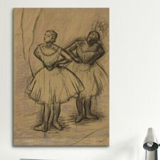 'Deux Danseuses' by Edgar Degas Painting Print on Canvas