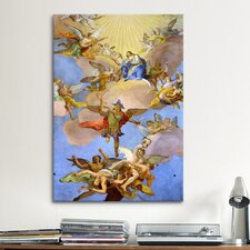 Christian 'Glory of Virgin Mary' by Daniel Gran Painting Print on Canvas