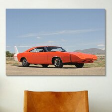Cars and Motorcycles 1969 Dodge Charger Daytona Photographic Print on Canvas